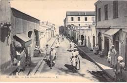ALGERIE Algeria - BLIDA Rue Denfert Rocherau ( Animation Commerces ) CPA - - Blida