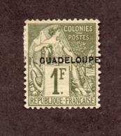 Guadeloupe N°26 N* TB Cote 115 Euros !!!RARE - Guadeloupe (1884-1947)