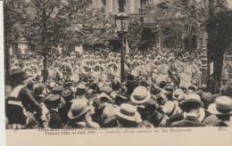 C. P. A. - FÊTES DE LA VICTOIRE - 14 JUILLET 1919 - PARIS - LES GOUMIERS SUR LES GRANDS BOULEVARDS - 55 - N. D. - Paris By Night