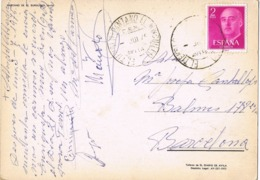 34578. Postal EL TIEMBLO - PANTANO DEL BURGUILLO (Avila) 1975. Fechador C.E.M, Especial Motorizado - 1931-Heute: 2. Rep. - ... Juan Carlos I