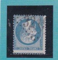 N° 22  GC 3219   BUREAU DE ROUEN - REF ACDIV - 1862 Napoleon III