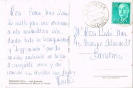 34579. Postal LA SABINA, Formentera  (Baleares) 1970. Vista Sabinas Con Molino - 1931-Hoy: 2ª República - ... Juan Carlos I