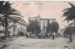 Sanary- Hôtel St Nazaire -  ** Belle Cpa De 1914 ** Ed. Touvier ** - Sanary-sur-Mer