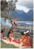Océanie.  Polynésie Française    . Tahiti     Flowers Of Tahiti.    Couronneuses   10x 15       (voir Scan) - Tahiti