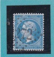 N° 22  GC 2272   BUREAU DE MAUBEUGE  - REF ACDIV - 1862 Napoleon III