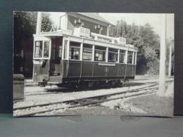 SGTE Tramway à Seyssins En 1945 Motrice N° 58 Cliché De A Rambaud Photo N°3 - Trains