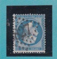 N° 22  GC 3827   BUREAU DE SAINT QUENTIN  - REF ACDIV - 1862 Napoleon III