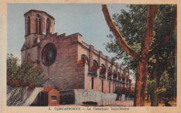 Carcassonne (11) - La Cathédrale Saint Michel - Carcassonne