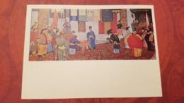 "Mongolia. Propaganda. ""New Power""   - Old Postcard 1970s - Mongolia"