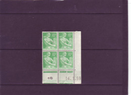 N° 1115A - 10F PAYSANNE - C De C+D - 1° Tirage Du 12.1.59 Au 3.2.59 - 14.01.1959 - - Otros