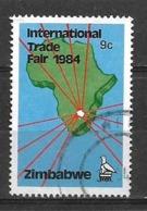 USED STAMP  ZIMBABWE - Zimbabwe (1980-...)