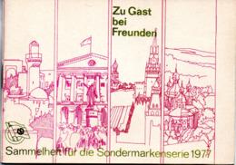 """(Kart-ZD)DDR Sammelheft Für Die DSF-Sondermarkenserie 1977 """"Zu Gast Bei Freunden"""" Kompl. Mit 20 Marken - [6] Repubblica Democratica"""