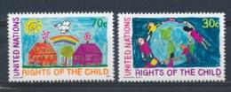 Verenigde Naties/United Nations/Nation Unis New York 1991 Mi: 615-616 Yt: 574-575 (PF/MNH/Neuf Sans Ch/**)(4895) - Ongebruikt