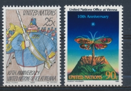 Verenigde Naties/United Nations/Nation Unis New York 1989 Mi: 577-578 Yt: 545-546 (PF/MNH/Neuf Sans Ch/**)(4898) - Ongebruikt