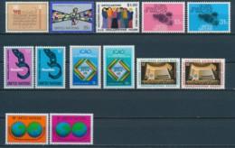 Verenigde Naties/United Nations/Nation Unis New York 1978 Mi: 315-327 Yt:  (PF/MNH/Neuf Sans Ch/**)(4901) - Ongebruikt