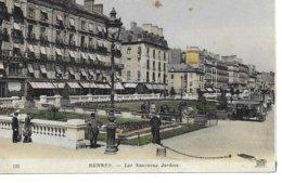 35 Rennes  Les Nouveaux Jardins Fiacre Tres Animée - Rennes