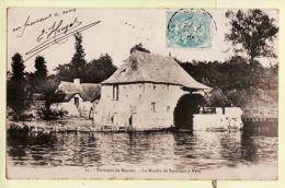 X35105 Peu Commun VERN Moulin à Eau BOUILLANT Environs De RENNES 1900s à CHASSE Rennes- Mary ROUSSELIERE 2 - France