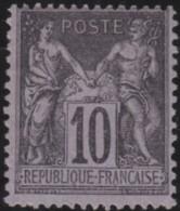 France      .    Yvert    .   103     .         (*)      .      Pas De Gomme  .   /  .   No Gum - 1898-1900 Sage (Type III)