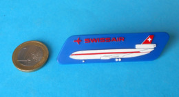 SWISSAIR - Large Stewardess Breast Badge * Switzerland Airlines Swiss Air Company Airline Suisse Schweiz Svizzera - Crew Badges