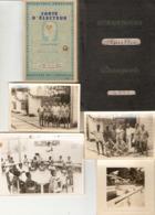 Lot De 49 Photographies Du Cameroun, Edéa, Techninien D'Alucam En 1959-1960, Passeport, Papiers, Usine - Otros