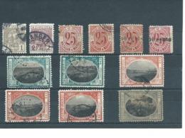 MAROC : Locaux. 2 Scans - Postzegels