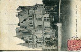N°76423 -cachet Convoyeur (ambulant) Locminé à Vannes -1907- - Spoorwegpost