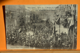Baccarat - Entrée Du 17è Bataillon De Chasseurs à Pied Et De L'escadron Du 4è Chasseurs à Cheval , Le 16 Avril 1914  - 2 - Baccarat