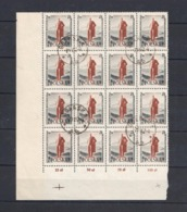 1957 Poland Polen: Mi.1032,Fi.887, O Gestempelt/cancelled, Bogenteil (16 Bfm) Lenin, Oktober-Revolution, S. Scan - 1944-.... Republik