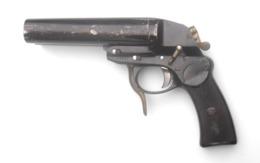 """Pistolet-signaleur à Double Canon """"type L"""" De La Luftwaffe Fabrication Fzs 1941 - 1939-45"""