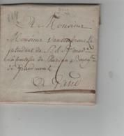 CBPN63/ Précurseur LAC Daté De Lessines 20/3/1790 ,marque En Creux > Gand Port 2 - 1790-1794 (Austr. Revol. & Fr. Invas.)