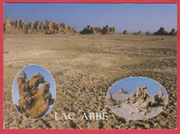 CP-DJIBOUTI- LAC ABBÉ  ** 2 SCANS - Gibuti