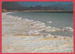 CP-DJIBOUTI- LAC ASSAL  ** 2 SCANS - Gibuti