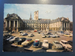 Carte Postale Automobiles Devant Le Palais Ducal à Dijon - Voitures De Tourisme