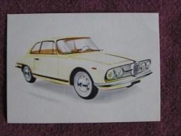 ALFA ROMEO COUPE 2000   Chromo Auto 1962 Chocolat Jacques Eupen Automobile Trading Card Chromos Vignette - Jacques