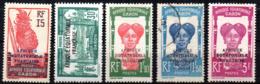Col17  Colonie Gabon N° 116 à 120 Sauf 117 Neuf X MH & Oblitéré Cote  21,00€ - Unused Stamps