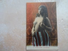 CPA Jeune Fille Mauresque Seins Nus - N°94 - Desnudos Adultos (< 1960)