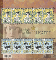 Koningin Elisabeth Herdenkingsuitgave 50 Jaar Na Haar Overlijden 4520/21** Emission Commémorative - Belgique