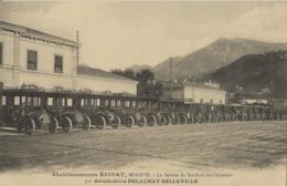 MENTON  Etablissements EPINAT Service Hôteliers  Automobiles DELAUNAY-BELLEVILLE 1905/20 - Menton