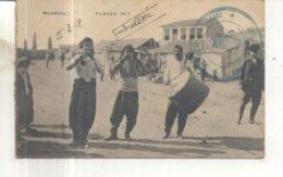Campagne D'Orient : Macédoine 1917 : Paques 1917 (Cachet Militaire) - Guerre 1914-18