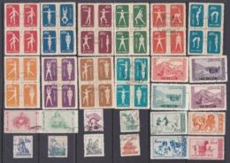 Cina 1952-1957  Insieme Di 19  Serie Cpl. +14 Valori Tutti Usati Tra I N/n Yv.930e1102 - Usati