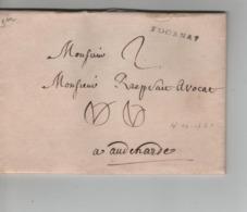 CBPN64/ Précurseur LAC Daté Tournai 4/10/1761 Petite Griffe Tournay > Audenarde Port 2 - 1714-1794 (Austrian Netherlands)