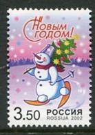 RUSSIA 2002 New Year MNH / **.  Michel 1044 - 1992-.... Fédération