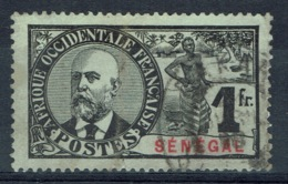 Senegal (French Colony), 1f., Noël Ballay, 1906, FU - Used Stamps