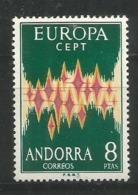 ANDORRA - MNH - Europa-CEPT - Art - 1972 - Europa-CEPT