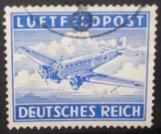 N°713E TIMBRE DEUTSCHES REICH OBLITERE - Luftpost