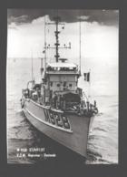 M 928 STAVELOT - Zeemacht / Force Navale Belge - Petite Carte Sur Calendrier / Kalender - Boot / Bateau - Ausrüstung