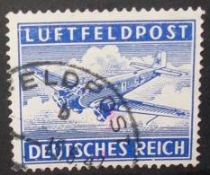 N°714E TIMBRE DEUTSCHES REICH OBLITERE - Luftpost