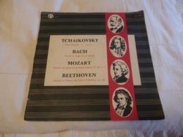 Vinyles. 33 T. Tchaikovski. J. S. Bach. Mozart. Beethoven (4 Titres) Guilde Internationale Du Disque - Clásica