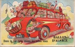 BALLON D'ALSACE- CARTE A SYSTEME - Frankreich