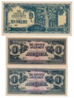 MALAYA // Set Of Six Note // AU/SPL - Banknotes